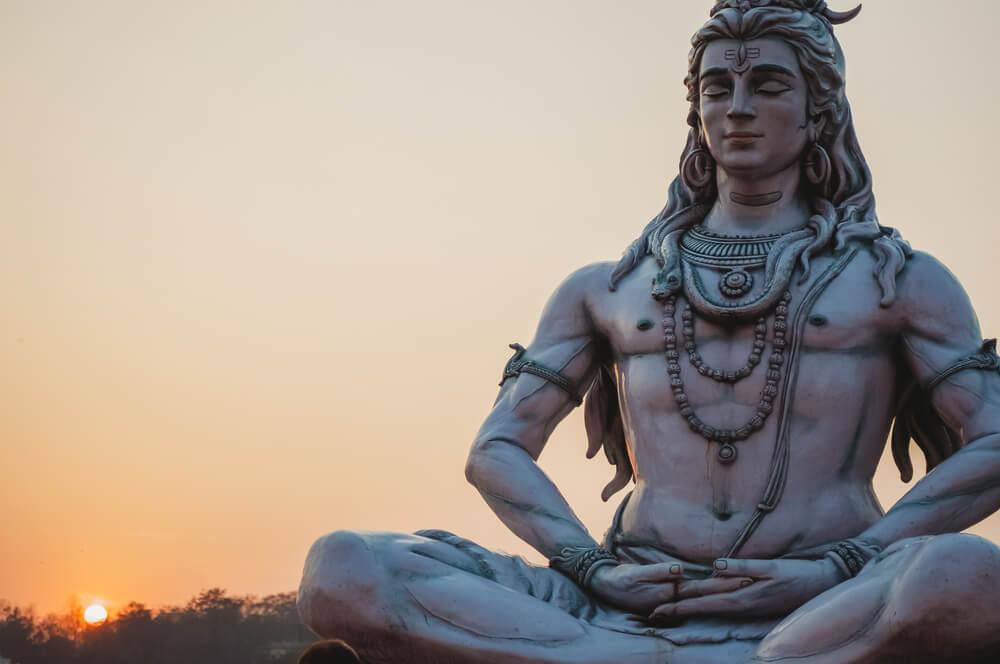 Estátua de Shiva ou Nataraja, o Rei dos Bailarinos.