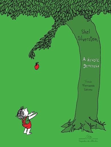 """Capa do livro """"A Árvore Generosa""""."""