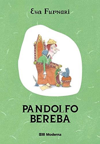 """Capa do livro """"Pandolfo Bereba""""."""
